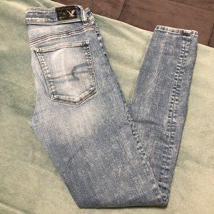American Eagle Jeans-Hi-Rise Jegging/Super Stretch